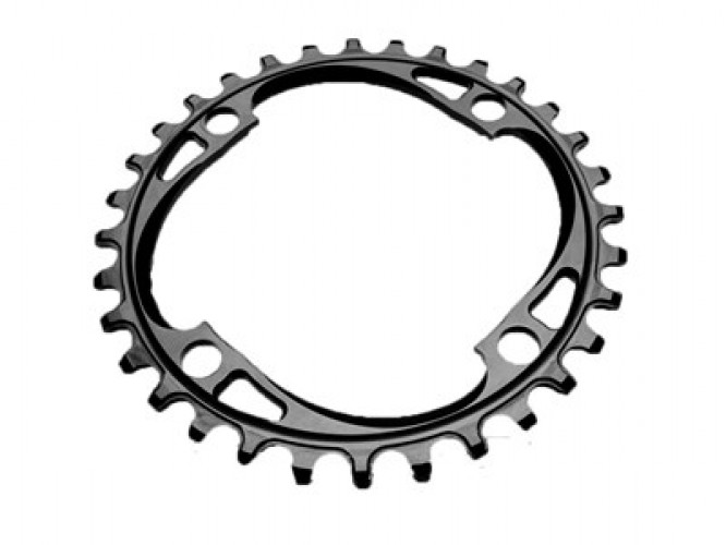 ABSOLUTEBLACK Chainring Round MTB 34T