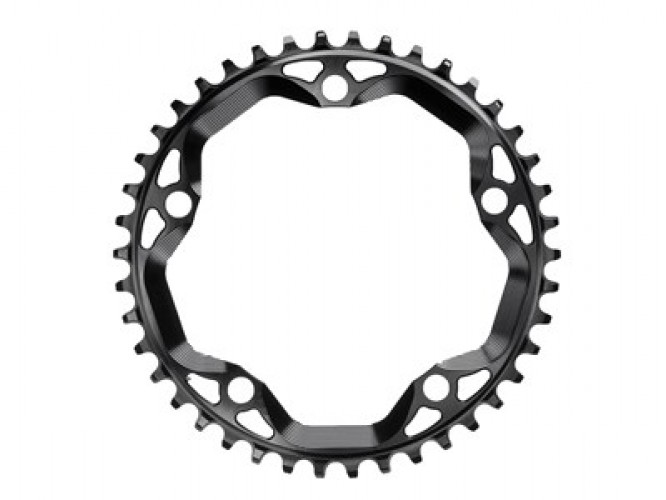 ABSOLUTEBLACK Chainring Round Cross 42T