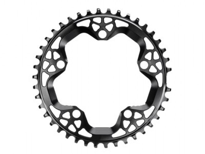 ABSOLUTEBLACK Chainring Round Cross 38T