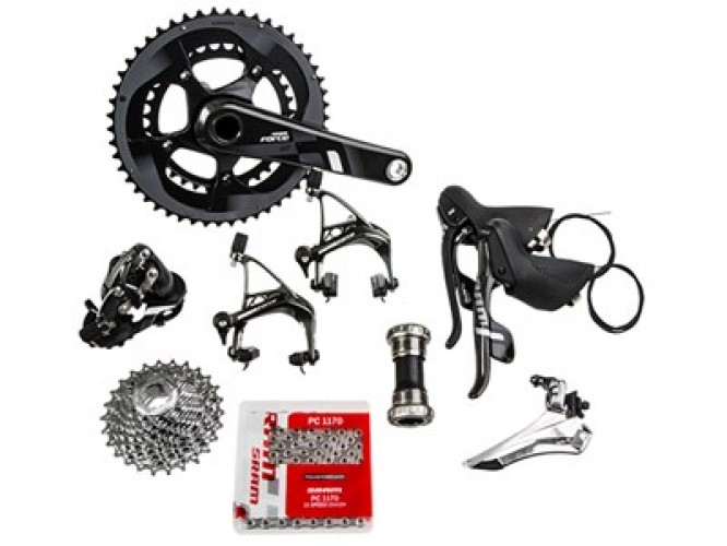 SRAM Groupset Force 22 GXP, 11 speed