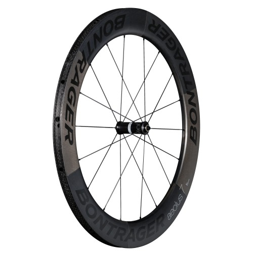 Bontrager Aeolus 7 D3 Tubular Road Wheel Black/Black
