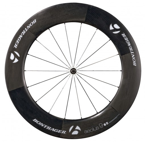 Bontrager Aeolus 9 D3 Tubular Road Wheel White/Carbon/W...