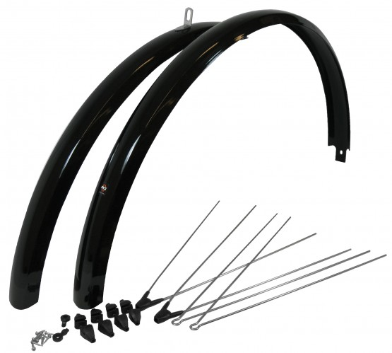 SKS 700c Fenders Sets Black