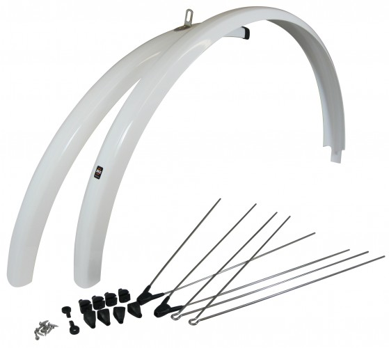 SKS 700c Fenders Sets White 10