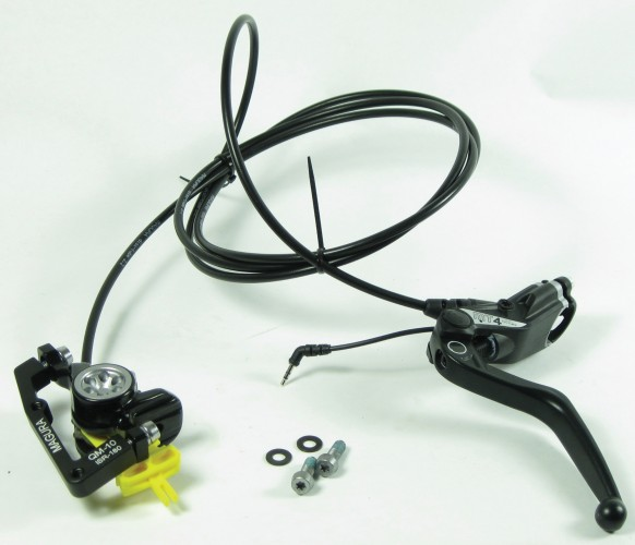 RIDE+ Hydraulic Brake Sets Black