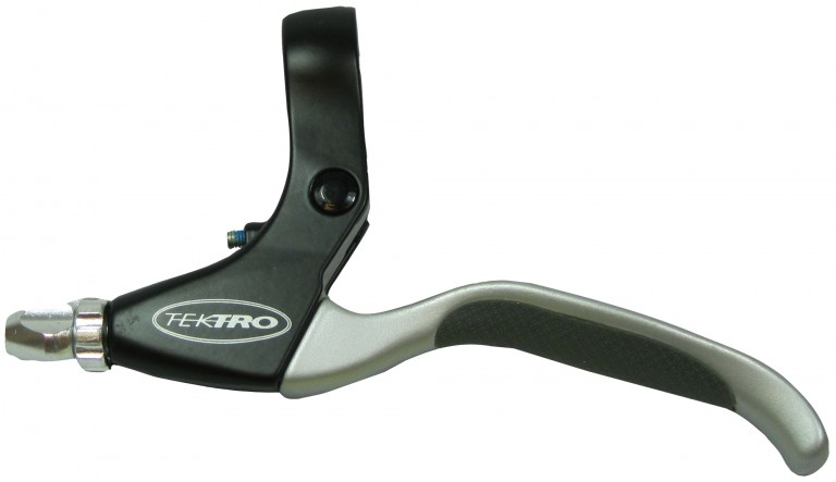 Tektro Flat Bar Brake Levers Black/Silver