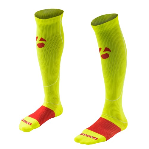 Bontrager RXL Recovery Compression Sock Visibility Yell...