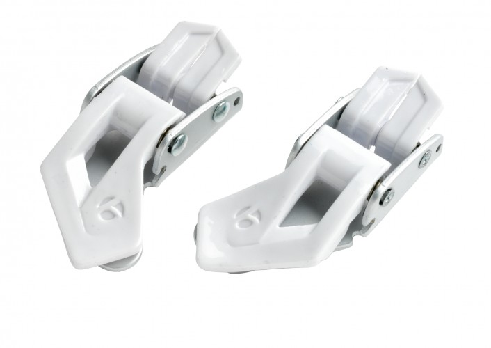 Bontrager Micro-Fit II Replacement Buckles White