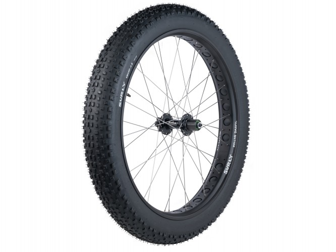 Trek OE Excess Fat Bike Wheels Black