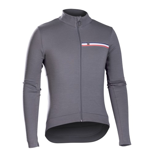 Bontrager Classique Thermal Long Sleeve Jersey Smoke
