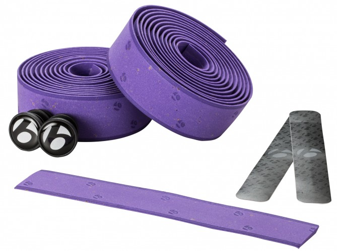 Bontrager Gel Cork Handlebar Tape Purple
