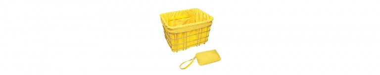 Electra Basket Liners Yellow/Tiles