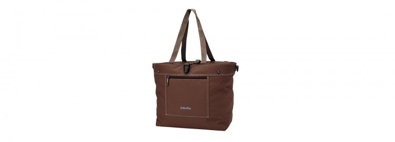 Electra Expandable Tote Bag Brown