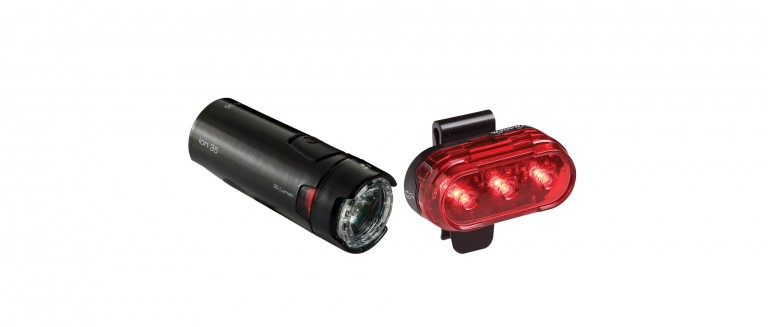 Bontrager Ion 35/Flare 1 Light Set Black