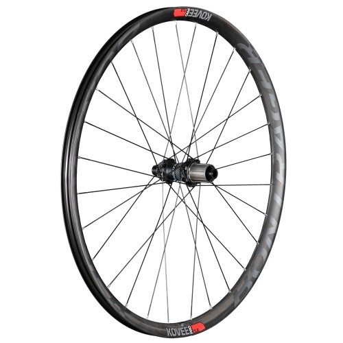Bontrager Kovee Pro TLR 27.5 Charcoal/Viper Red/Black